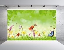 SHENGYONGBAO Vinyl Custom Spring theme Photography Backdrops Prop Digital Printed Photo Studio Background  QS83 цены