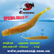 Fishing Bait Soft Pesca 6pcs EsFishing 10cm/4.5g Soft Lure Spring Shad Fishing Silicone Bait Cheap Fishing Tackle Carp China