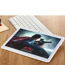 Carbaysatr Металл 10.1 дюймов K999 Smart Android 7.0 Tablet PC ROM 64 ГБ 1280*800 IPS экран android-планшет Mobile Телефон 4 г WiFi GPS