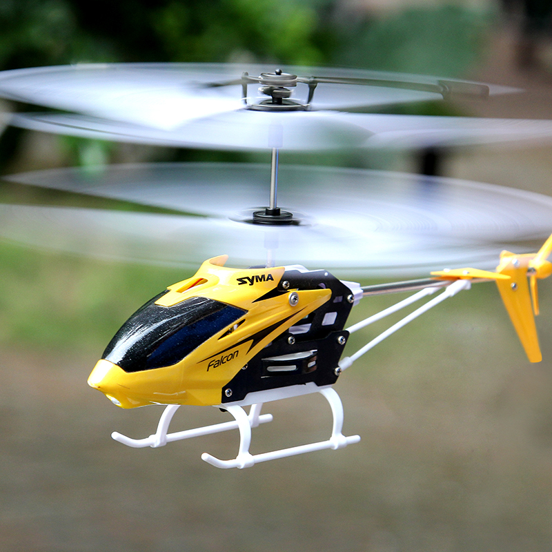 Syma 2 channel indoor small size rc helicopter with gyro for Helicoptere syma