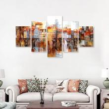 Modern Popular Graffiti Vintage Abstract Poster Wall Artwork Canvas Oil Painting for Home Decoration Wedding Decor