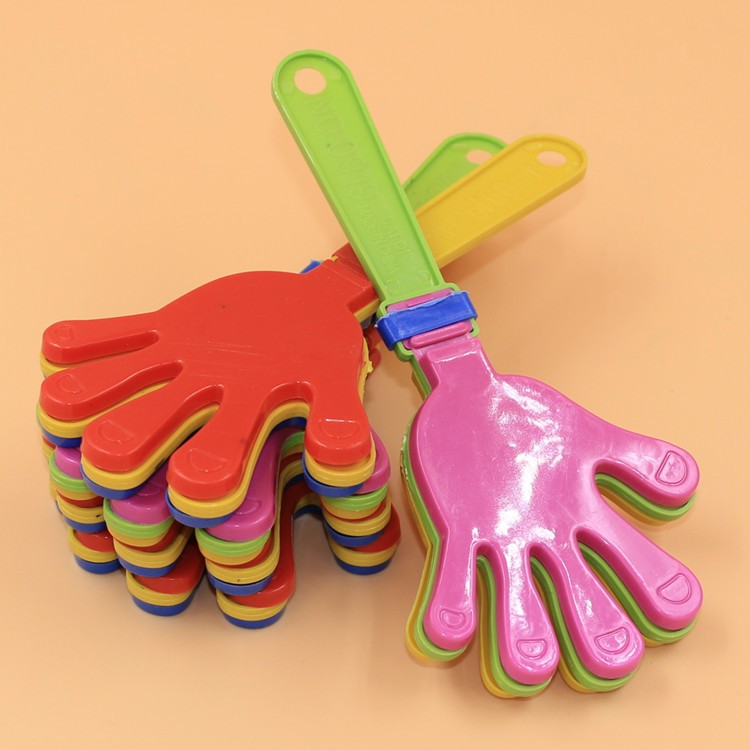 2400pcs/lot Plastic Hand clapper clap toy cheer leading clap for Olympic game football g ...