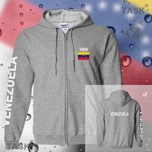 Venezuela mens hoodies and sweatshirt jerseys polo sweat suit streetwear tracksuit nation fleece zipper flag Mestizo Caracas Ven