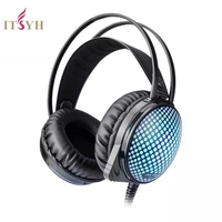ITSYH Computer Stereo Gaming Headphones Kotion EACH K 5 Best Casque Deep Bass Game Earphone Headset