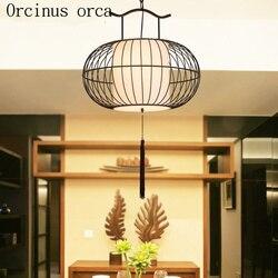 Nowy chiński styl klatka dla ptaków lampy osobowość twórcza chiński restauracja w stylu