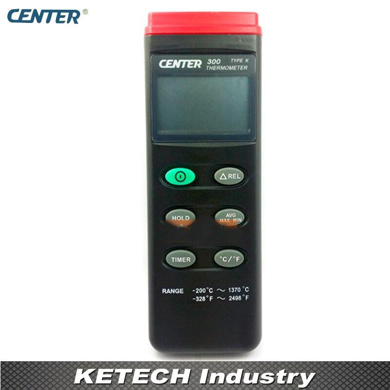 Termometro digitale K tipo con Spegnimento automatico Funzioni CENTER300 - 2