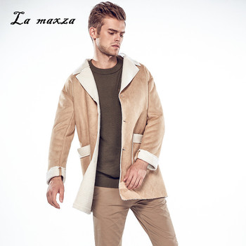 Plus Size 2020 Mens Fashion Casual Slim Outwear Wind Coats Pockets Winter Dress Coat New Arrivals