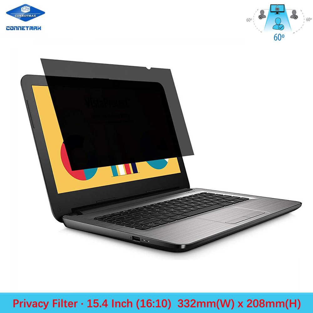 Computer Portatile da 15.4 pollici Filtro Privacy Pellicola Della Protezione Dello Schermo per Widescreen (16:10) LCD del Notebook Monitor