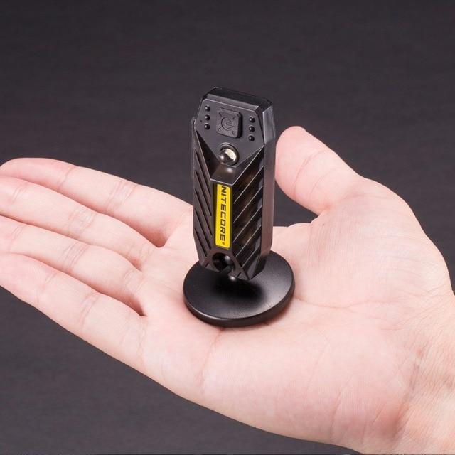 SALE Nitecore High Performance LED Light USB Rechargeable T360M Outdoor Fishing FlashLight HandLamp Waterproof Magnetic Pedestal