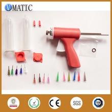 10CC Manually single liquid dispensing glue gun with 10cc syringe set + Liquid glue dispensing needles free shipping