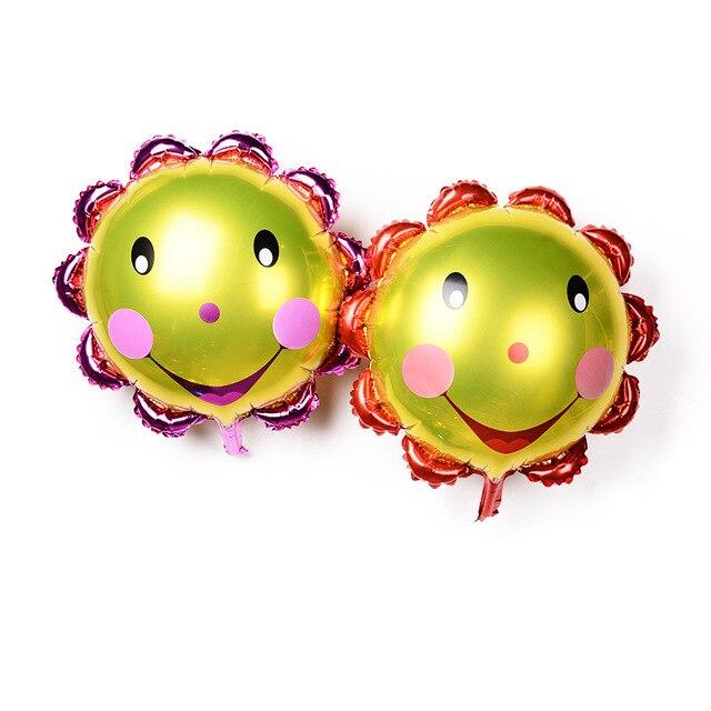 50 Stucke Heisse Neue 60 60 Cm Smiley Aluminiumfolie Ballons