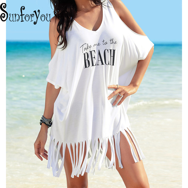 51fc669e686eb New Beach Cover up Kaftan Bikinis Lady Shirt Swimsuit Sexy Bikini Cover up  Swimwear Dresses Saida de Praia Pareos Print tunics