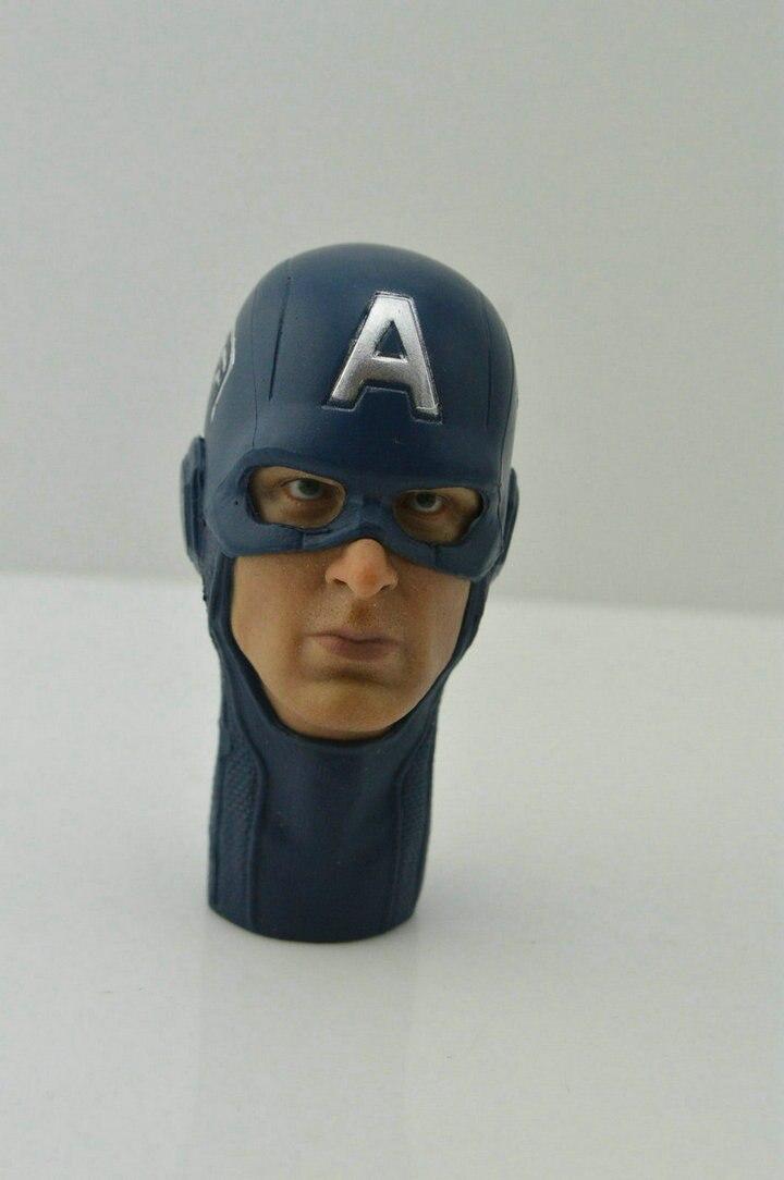 1/6 scale Custom Head Sculpt Captain America Winter Soldier Chris Evans Mask