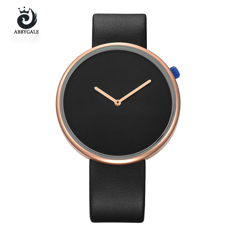 Fashion Minimalist Women Wrist Watch Simple Style Ladies Clock Quartz Women Watches ladies watches top brand luxury ABBYGALE duoya 2017 fashion ladies watches women luxury leaf fabric gold wrist for women bracelet vintage sport clock watch christmas gif