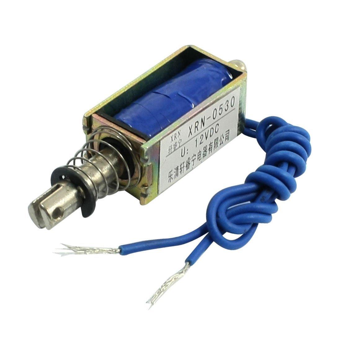 цена на Solenoid electric solenoid type push / pull 10 mm DC 12 V 2.1 kg force