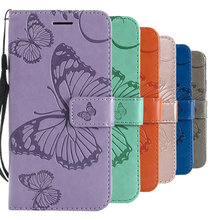 5.7'' Butterfly Wallet Armor for LG LS775 Case Flip Cover Funda for LG LS 775 Cover Coque LG LS775 L S 775 S775 360 Full Protect(China)