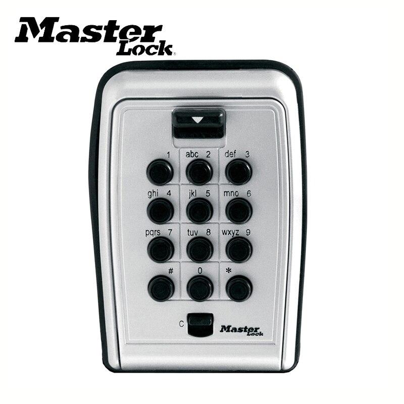 Key Safe Box Wall Mount Password Locker Combination Code Keys Card Small Items Keeper Storage Box For Home Company Factory Use