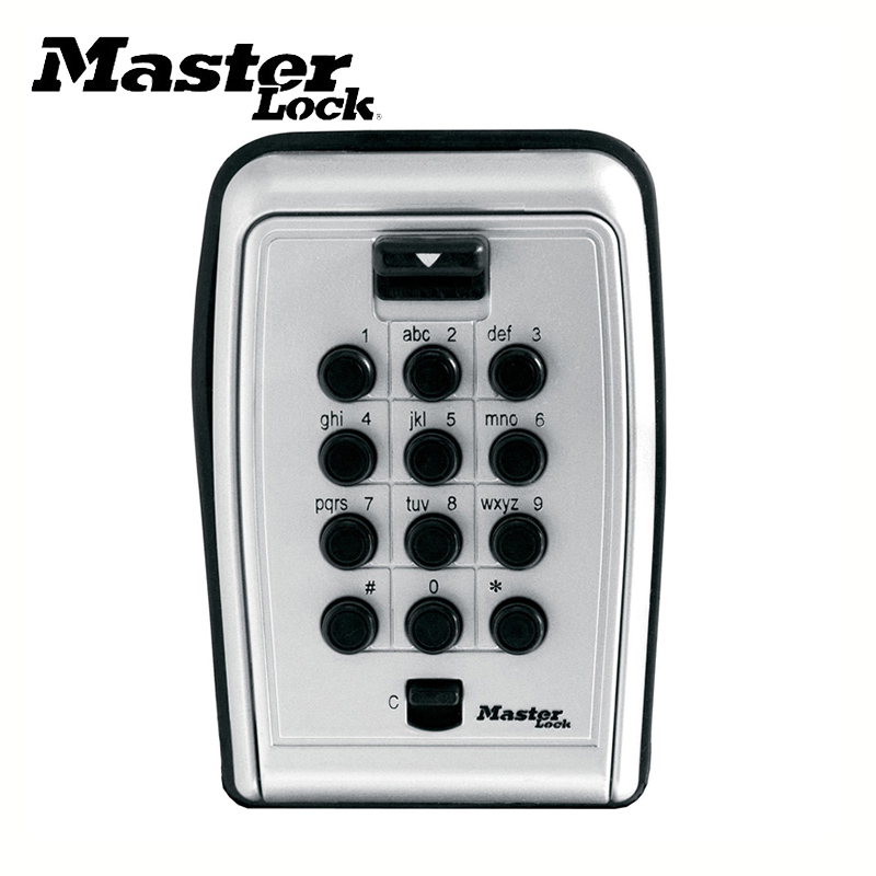 Key Safe Box Wall Mount Password Locker Combination Code Keys Card Small Items Keeper Storage Box For Home Company Factory Use Safes     - title=