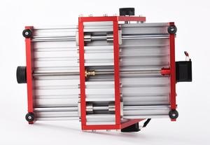 Image 4 - CNC1419 all metal piccolo desktop di incisione/rame metallo di alluminio macchina per incisione/macchina per incidere di CNC macchina