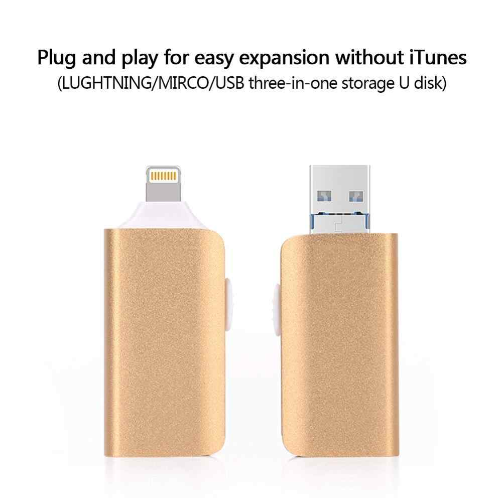 Iphone の usb フラッシュドライブ 256 ギガバイト iPhone 6 6S 7 7S 7 1080P 8 8 プラス X iPad フラッシュドライブ雷 USB 3.0 メモリスティックペンドライブ 128 ギガバイト
