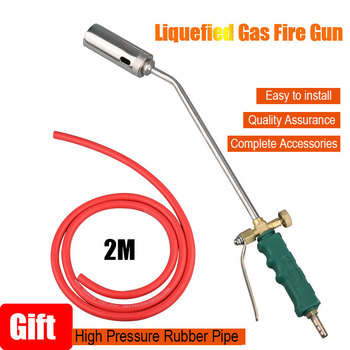 50# Liquefied  Welding Gas torch Fire Gun Welding Gas Torch Weed Burner Welding Accessories  Heating Torch Propane Butane Gas fire maple gas torch flame gun blowtorch cooking butane gas burner lighter heating welding gas burner flame 159g fms 706
