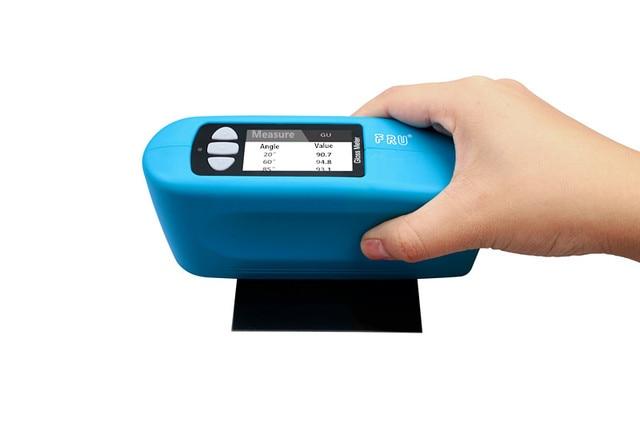 Gloss Meter Precisie Drie Hoek Glansmeter Tester 20 60 85 Graden Bereik 0 2000 Kan 50000 Testen Verslagen 100 Prototypes