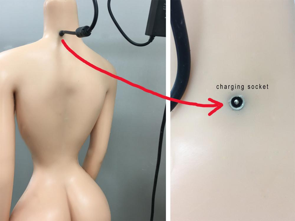 Moaning Voice Function+Heating Function For Sex Doll