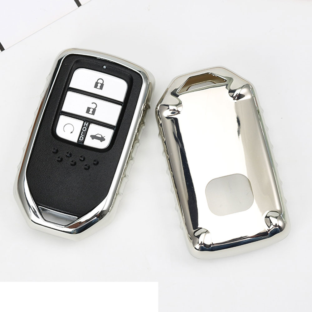 2017 TPU Car Key Cover Case suitable for Honda Fit Accord Civic CR-V CRV City Jazz Elantra IX35 Santafe Key Chain Accessories