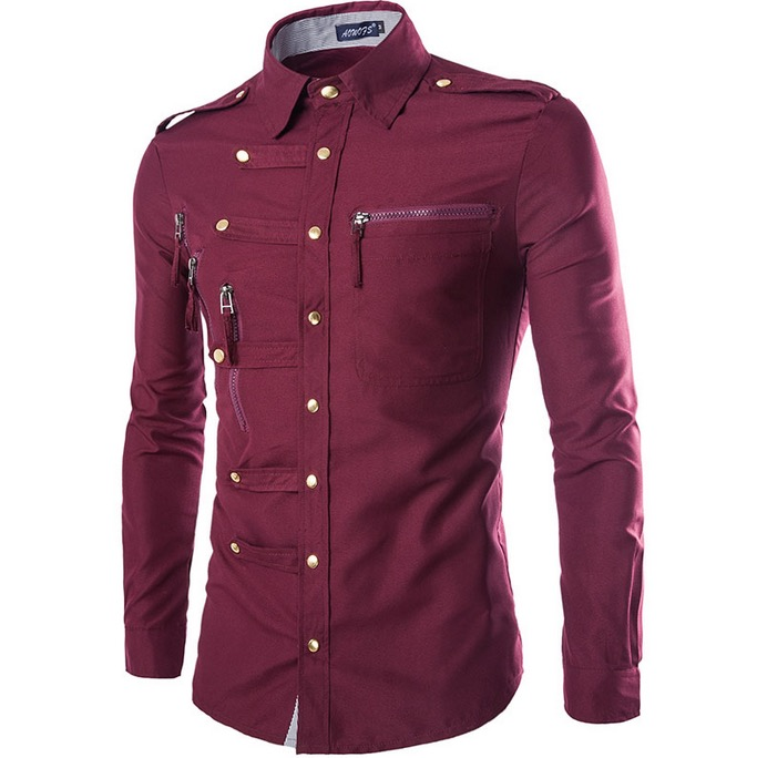 Mens Long Sleeve Button Down Shirts Promotion-Shop for Promotional ...