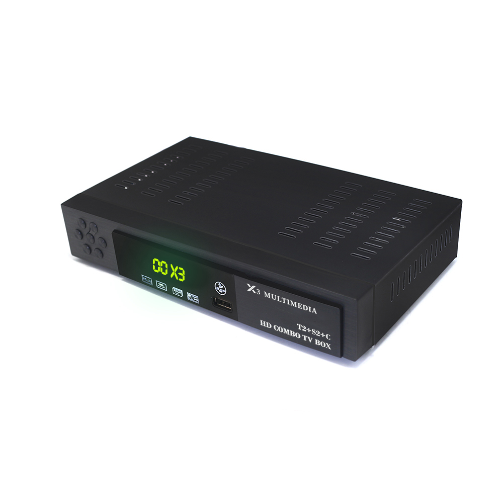 Image 2 - Vmade Newest Fully HD DVB T2 S2 DVB C Terrestrial Satellite Combo TV Receiver H.264 HD 1080p Support AC3 DVB T2 S2 TV Box + WIFI-in Satellite TV Receiver from Consumer Electronics