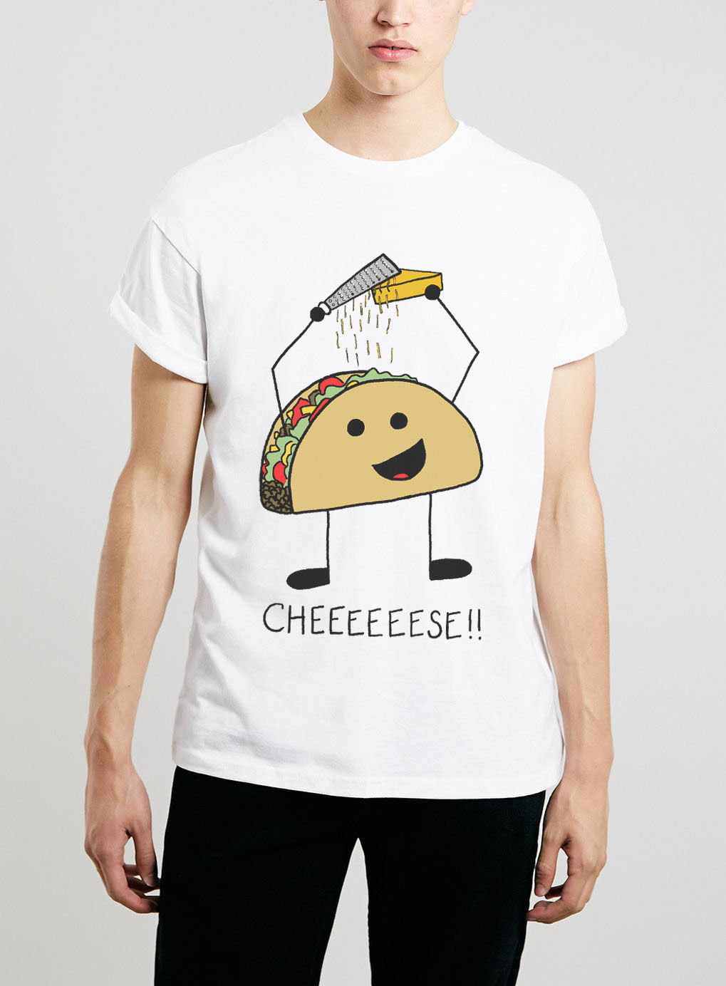 TACO T SHIRT CHEESE GRATER