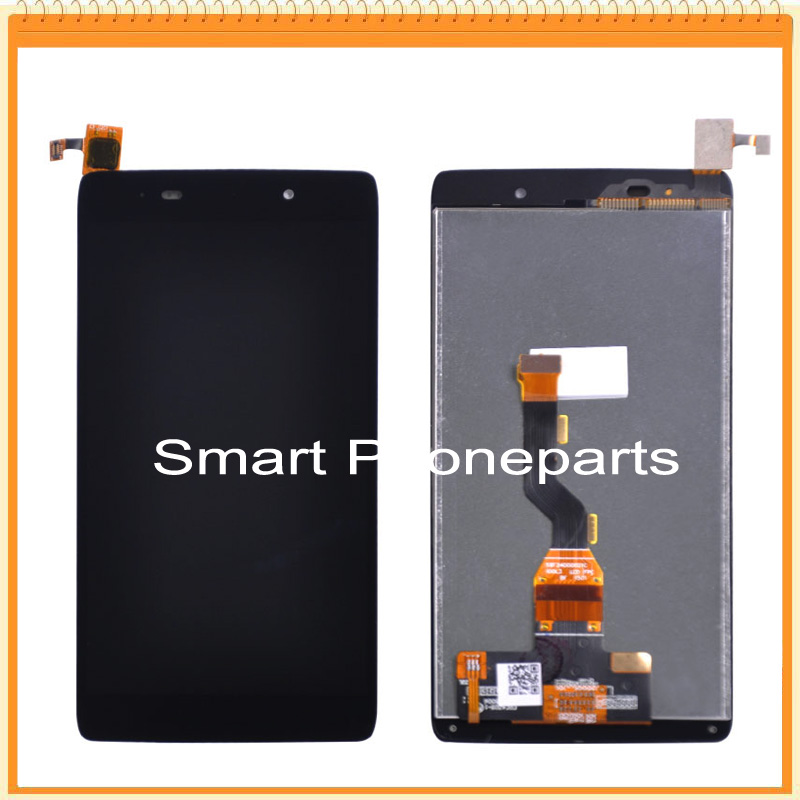 imágenes para Para Alcatel One Touch Ídolo 3 OT6039 6039 6039y Pantalla LCD con Pantalla Táctil Digitalizador Asamblea Negro Envío Gratis