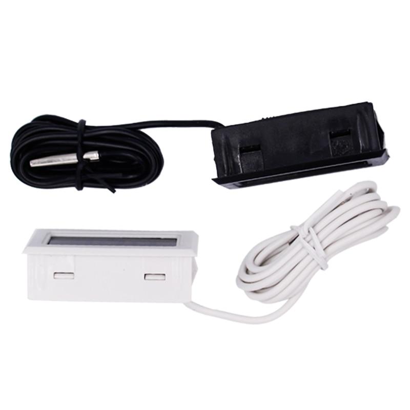 LCD digitální mini teploměr, teplotní senzor, lednička, - Měřicí přístroje - Fotografie 3