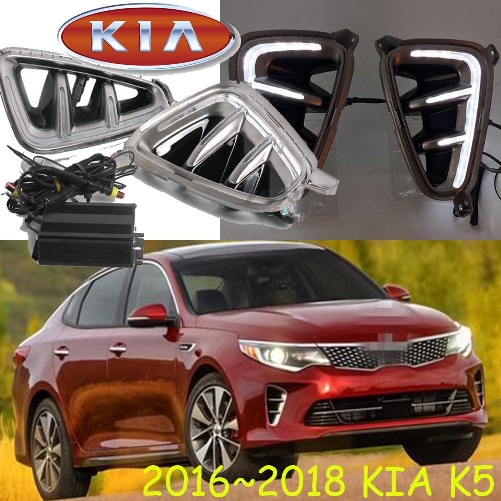 2016 2017 KIA K5 daytime light,rio,sorento,LED,k5 fog light,ceed,cerato,k5 day lamp,k3 fog light,sportage,spectra,soul EV,Sephia kia ceed автомобили с пробегом