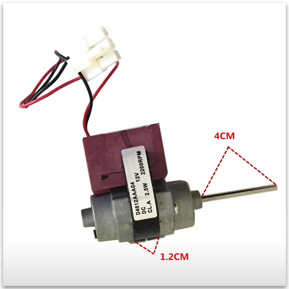new for good working High-quality for refrigerator D4612AAA04 DC12V 2.5W Fan Motor 100% new for good working high quality for refrigerator ka82nv06ti ka62nv001ti cl fan motor