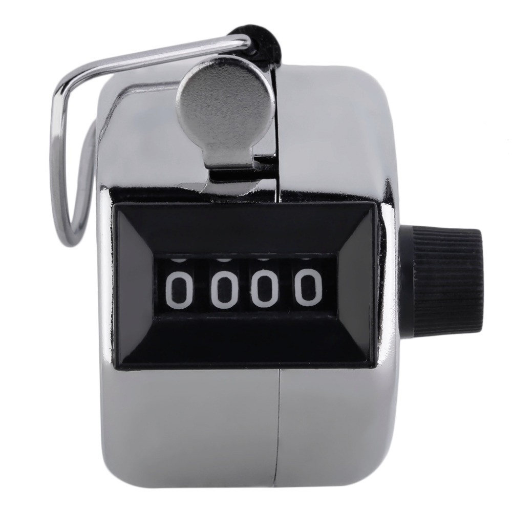 Beautiful And Exquisite Life Store ACEHE Digital Hand Tally Counter 4 Digit Number Hand Held Tally Counter Manual Counting Golf Clicker Hot sale