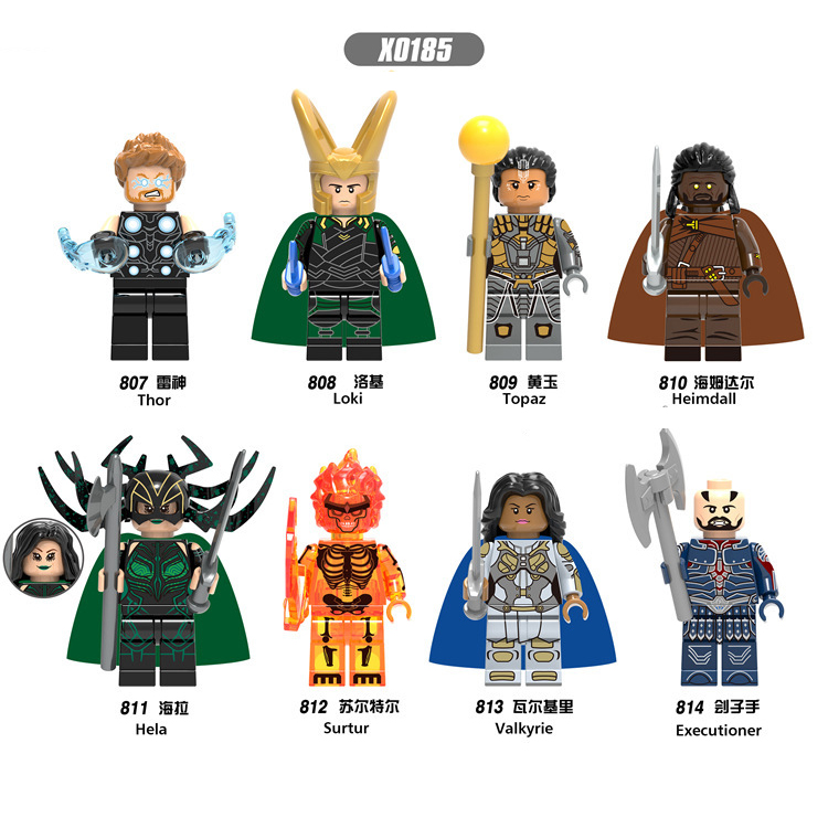 The Avengers, Rocky, Thor_2