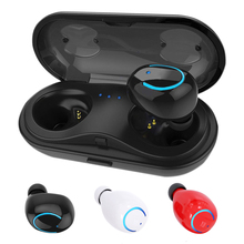 Wireless Bluetooth Headphone Earphone with Built-in HD Mic and Charging Case