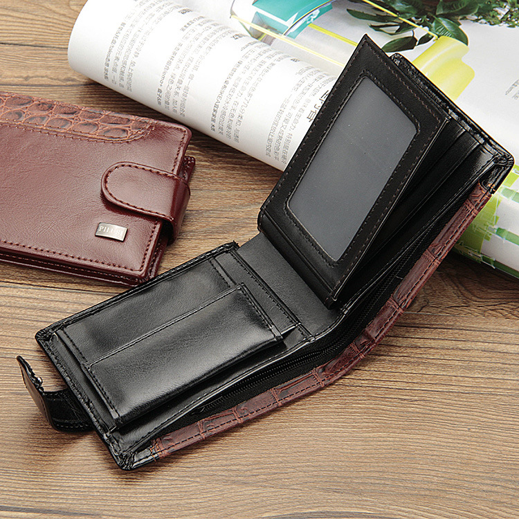 HTB1YfbagxSYBuNjSspjq6x73VXag - Baellerry Leather Vintage Men Wallets Coin Pocket Hasp Small Wallet Men Purse Card Holder Male Clutch Money Bag Carteira W066