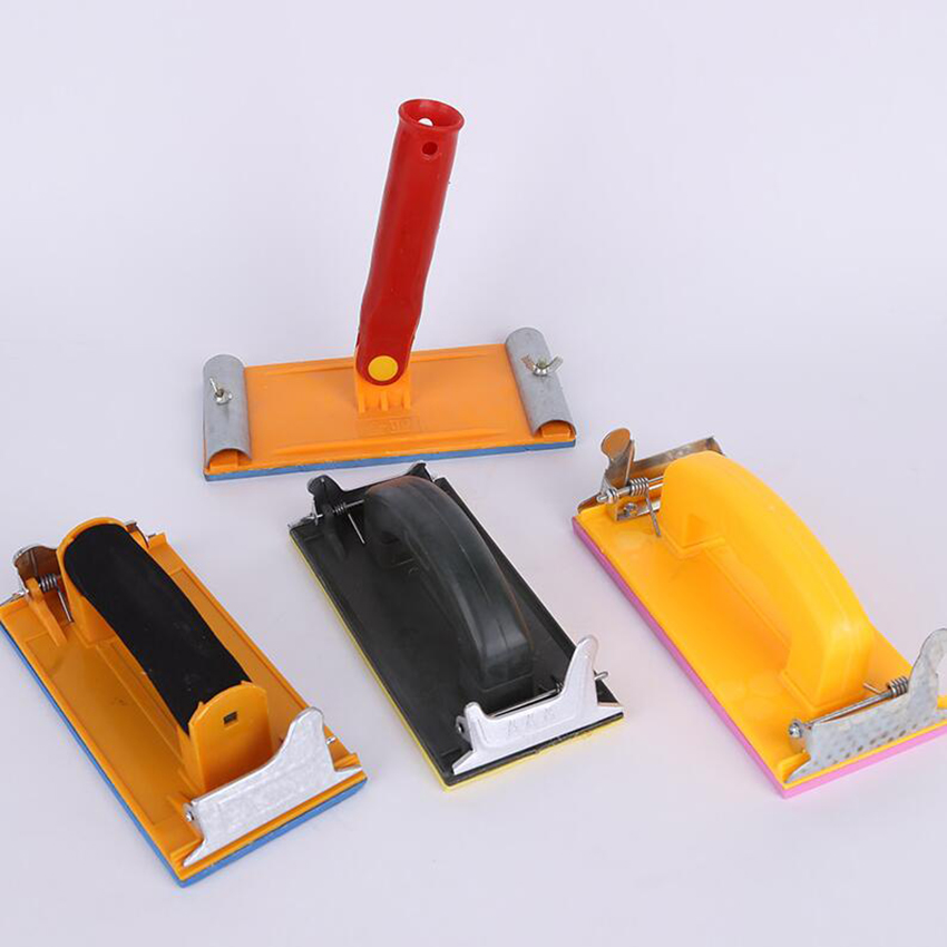 Alert Handheld Belt Sandpaper Frame Sand Paper Devil Sanding Block Diy Tool Bubble Sandpaper Clip Sander Cloth Racks Polish Machine Special Summer Sale Tools
