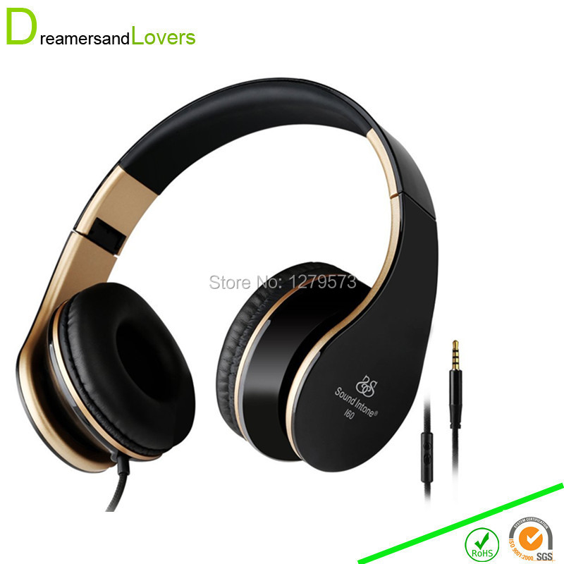 3.5mm Bass Headphones, Foldable Headsets with Microphone and Volume Control,Stereo Earphones for Kids/ Adults for iPhone Samsung merrisport lightweight foldable wired girls headphones kids headsets with microphone and remote control for computer phone mp3 4