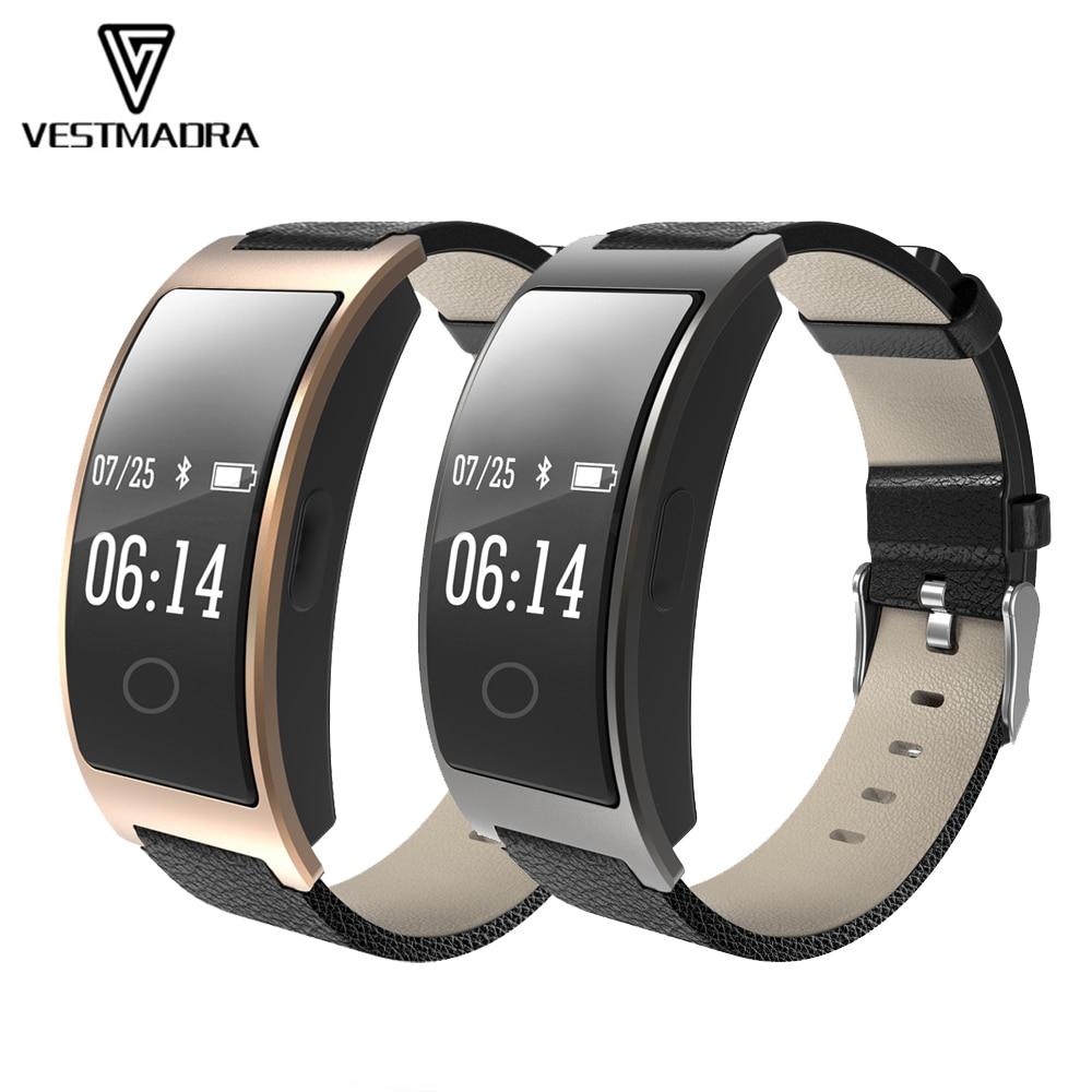 все цены на VESTMADRA Smart Bracelet Wristband Watch Heart Rate Blood Pressure Oxygen Monitor Smart Wristband Pedometer Fitness Tracker