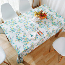 Home Decoration Rectangular Dining Table Cloth Dustproof Tablecloth for TV Sofa Refrigerator 4 Colors Hotel Bar Cafe Table Cover(China)