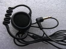 Linhuipad 500Pcs mono hook earbud headphone single side earpiece earphone for tour guide system,meeting ,translation