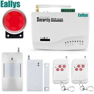 Image 3 - Wireless wire GSM Alarm System Antenna Alarm Systems Security Home Wireless Signal 850/900/1800/1900MHz support Russian/English