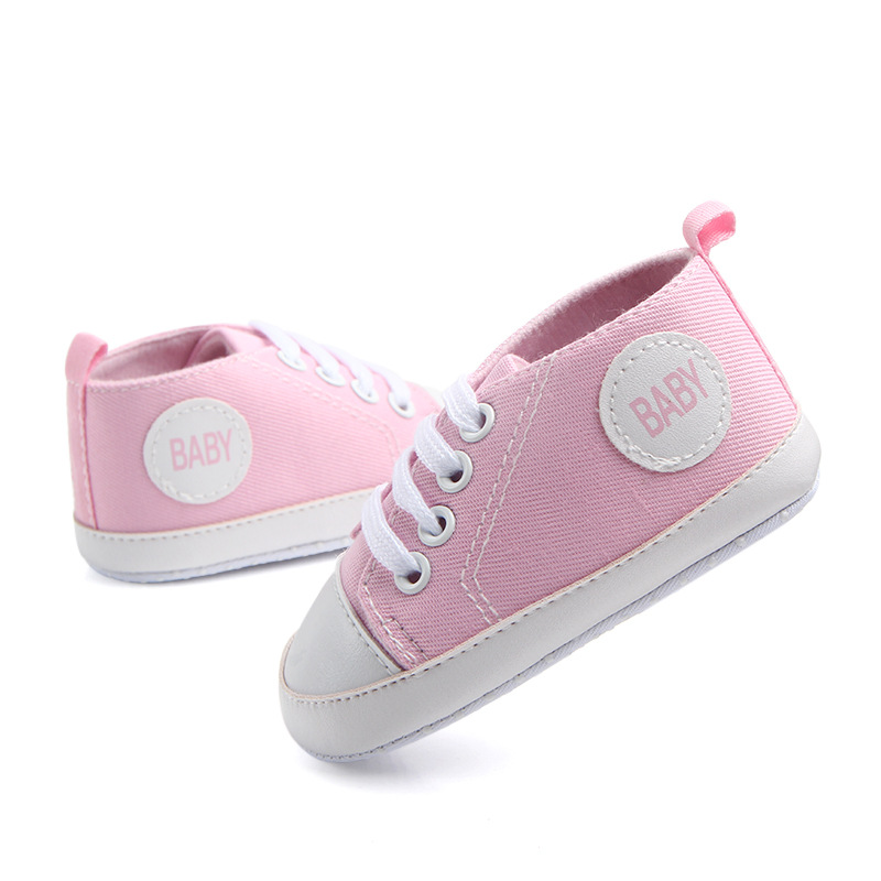 2017 Spring and Autumn new baby baby soft bottom shoes