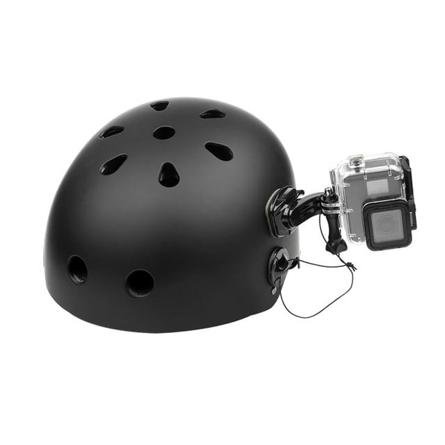 SHOOT Helmet Surfboard Safety Insurance String With Sticker Mount for GoPro Hero 8 7 5 Eken Sjcam Xiaomi Yi 4K Surfing Accessory
