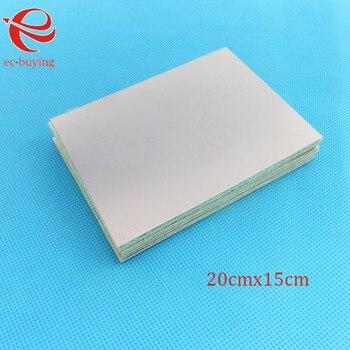 5 pcs/lot Copper Clad Laminate Double Side Plate CCL 20x15cm 1.5mm FR4 Universal Board Practice PCB DIY Kit 200*150*1.5mm