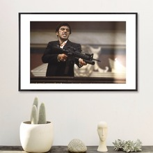 Scarface Movie Fight Canvas Art Print Painting Poster Wall Pictures For Room Decoration Home Decor No Frame Picture