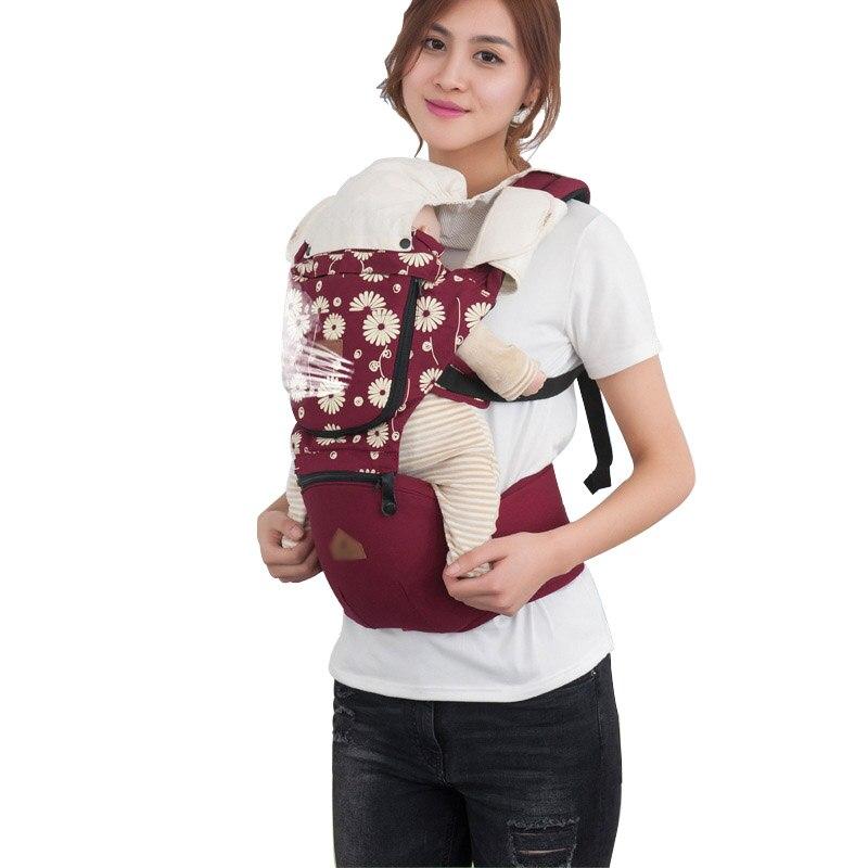 3-36 mois bébé sacs à dos transporteurs respirant bébé fronde sac à dos transporteurs confortable bébé ceinture taille tabouret infantile sac à dos